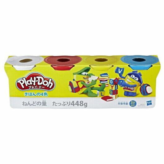 0630509730964 B6508 プレイ・ドー キッチンシリーズ きほんの4色
