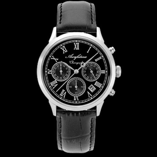 アルカフトゥーラ ARCA FUTURA クオーツ メンズ クロノグラフ 腕時計 0001-01 ブラック ブラック