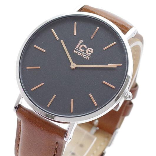 アイスウォッチ ICE WATCH 腕時計 メンズ 016229 シティクラシック CITY classic クォーツ ブラック ブラウン