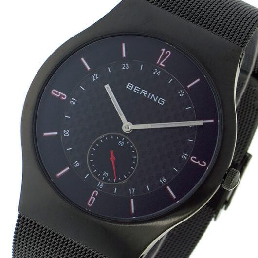 ベーリング BERING クオーツ メンズ 腕時計 11940-377 ブラック ブラック