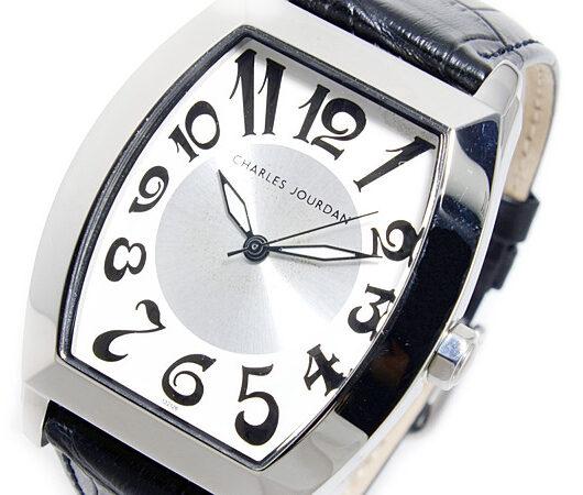 シャルル ジョルダン CHARLES JOURDAN クオーツ メンズ 腕時計 132.12.6 ホワイト
