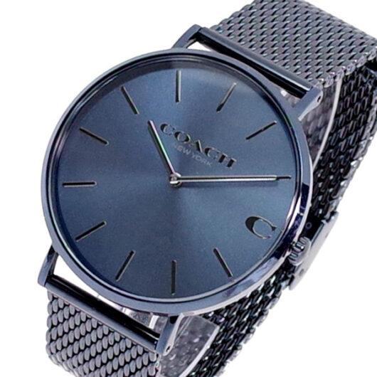 コーチ COACH 腕時計 メンズ 14602146 クォーツ ネイビーブルー