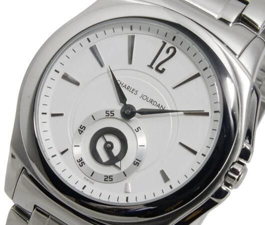 シャルル ジョルダン CHARLES JOURDAN クオーツ メンズ 腕時計 151.12.1 ホワイト