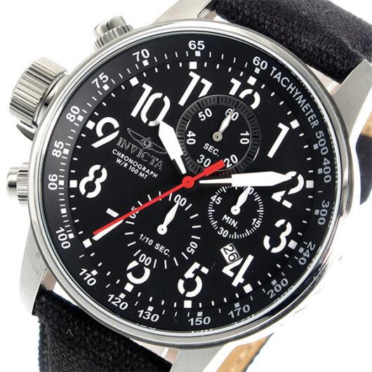 インヴィクタ INVICTA クオーツ クロノ メンズ 腕時計 1512 ブラック ブラック