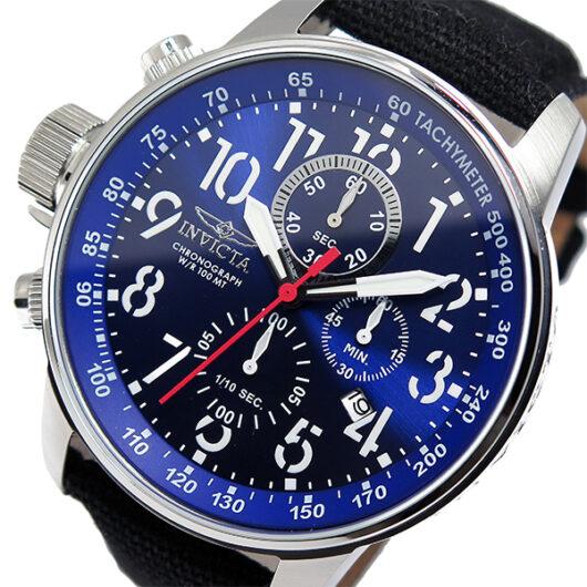 インヴィクタ INVICTA クロノ クオーツ メンズ 腕時計 1513 ネイビー ネイビー
