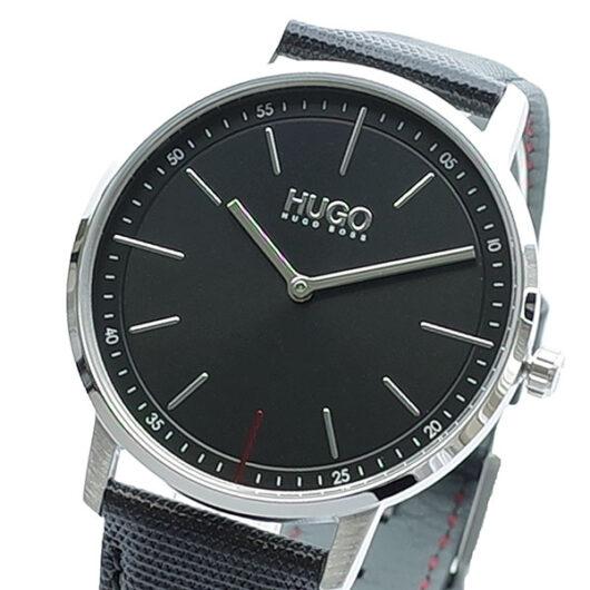 ヒューゴボス HUGO BOSS 腕時計 メンズ 1520007 クォーツ ブラック
