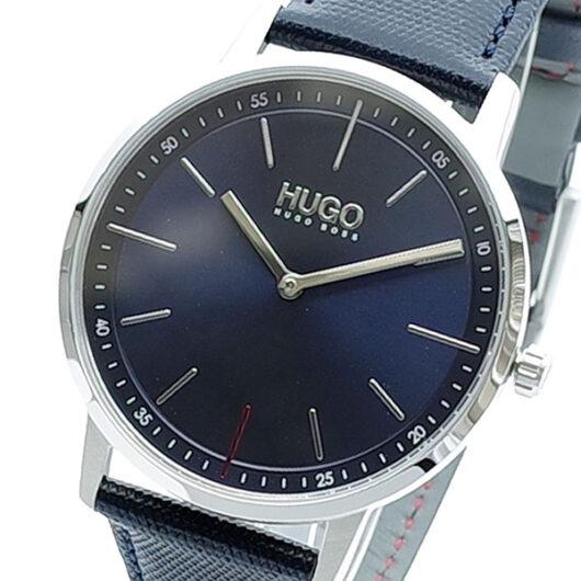 ヒューゴボス HUGO BOSS 腕時計 メンズ 1520008 クォーツ ネイビー ブラック