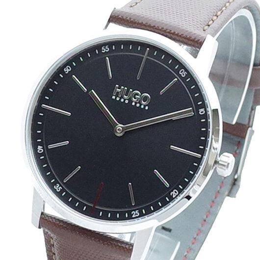ヒューゴボス HUGO BOSS 腕時計 メンズ 1520014 クォーツ ブラック ブラウン