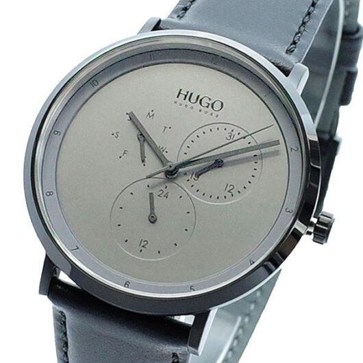 ヒューゴボス HUGO BOSS 腕時計 メンズ 1530009 クォーツ シルバー ブラック