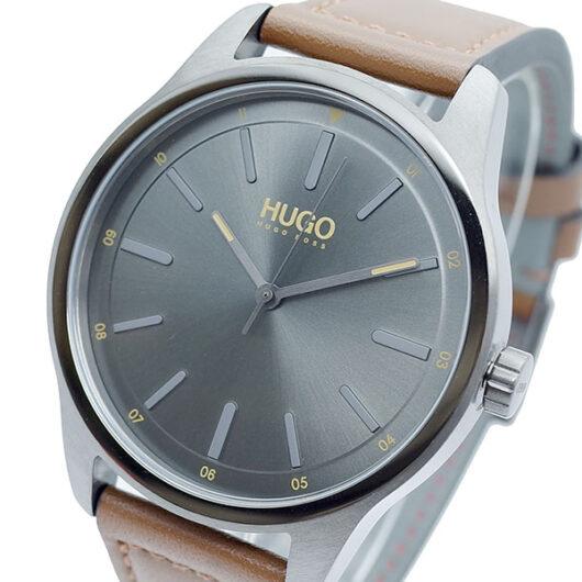 ヒューゴボス HUGO BOSS 腕時計 メンズ 1530017 クォーツ ブラック ブラウン
