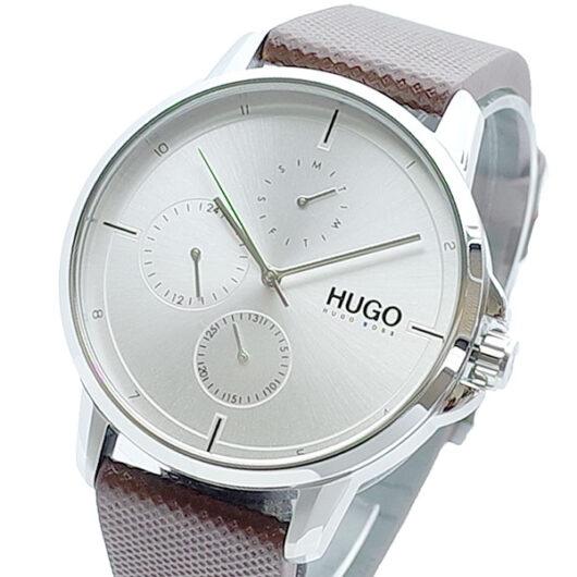ヒューゴボス HUGO BOSS 腕時計 メンズ 1530023 クォーツ シルバー ブラウン