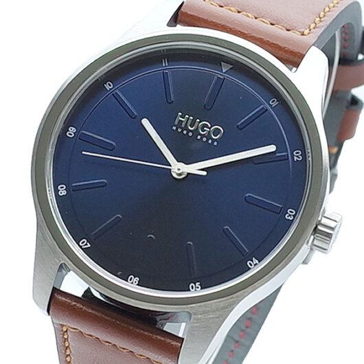 ヒューゴボス HUGO BOSS 腕時計 メンズ 1530029 クォーツ ネイビー ブラウン