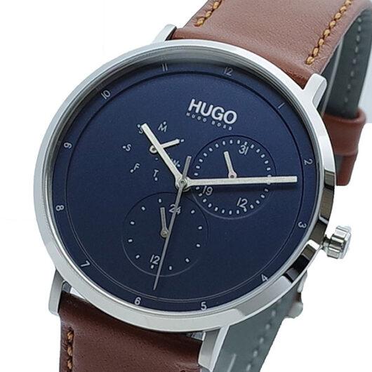 ヒューゴボス HUGO BOSS 腕時計 メンズ 1530032 クォーツ ネイビー ブラウン