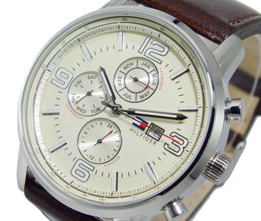 トミー ヒルフィガー TOMMY HILFIGER クオーツ メンズ 腕時計 1710337 ブラウン