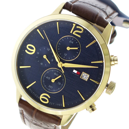 トミー ヒルフィガー TOMMY HILFIGER クオーツ メンズ 腕時計 1710359 ネイビー ネイビー