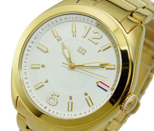 トミー ヒルフィガー TOMMY HILFIGER クオーツ メンズ 腕時計 1781370 ホワイト
