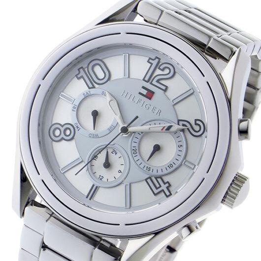 トミー ヒルフィガー TOMMY HILFIGER クオーツ メンズ 腕時計 1781650 ホワイト ホワイト