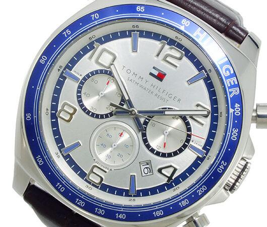 トミー ヒルフィガー TOMMY HILFIGER クオーツ メンズ 腕時計 1790937 シルバー