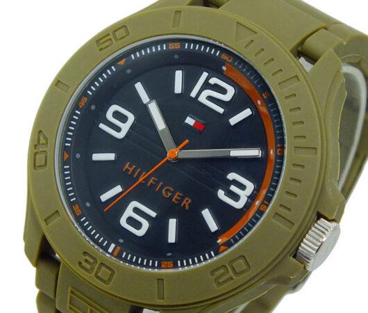 トミー ヒルフィガー TOMMY HILFIGER クオーツ メンズ 腕時計 1790943 ブラック