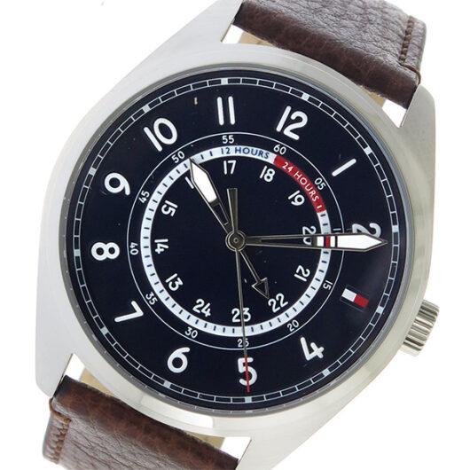 トミー ヒルフィガー TOMMY HILFIGER  クオーツ メンズ 腕時計 1791371 ネイビー ネイビー