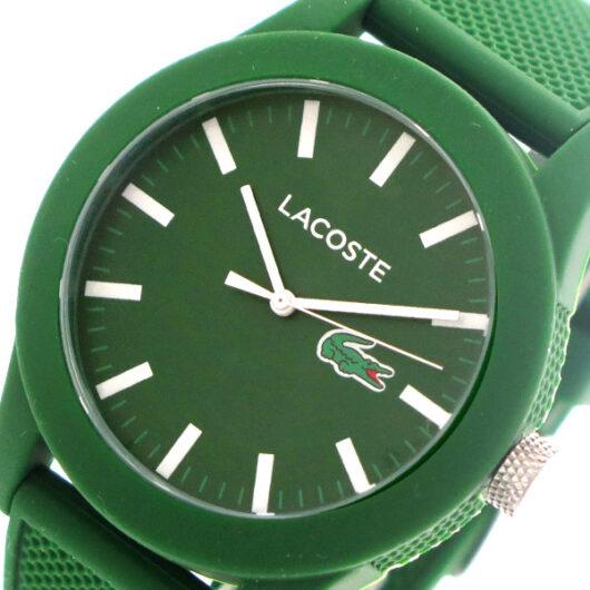 ラコステ LACOSTE  クオーツ メンズ 腕時計 2010763 グリーン グリーン