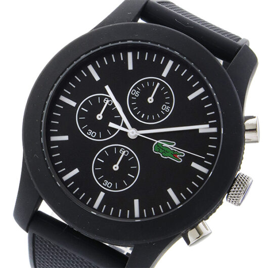 ラコステ LACOSTE  クオーツ メンズ 腕時計 2010821 ブラック ブラック