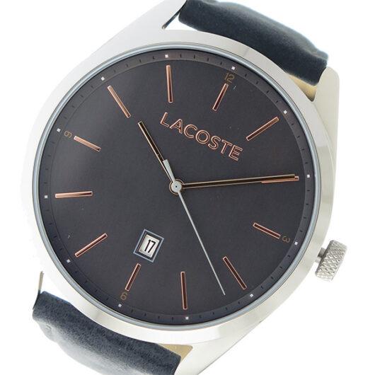 ラコステ LACOSTE クオーツ メンズ 腕時計 2010911 メタリックグレー グレー