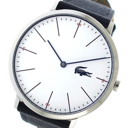ラコステ LACOSTE クオーツ メンズ 腕時計 2010914 ホワイト ホワイト
