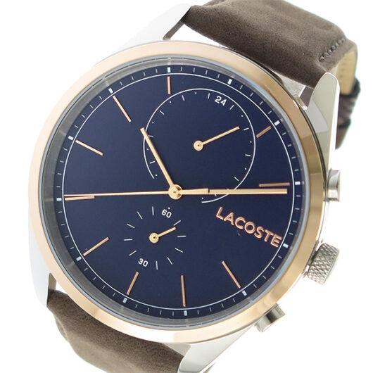 ラコステ LACOSTE クオーツ メンズ 腕時計 2010917 ネイビー ネイビー