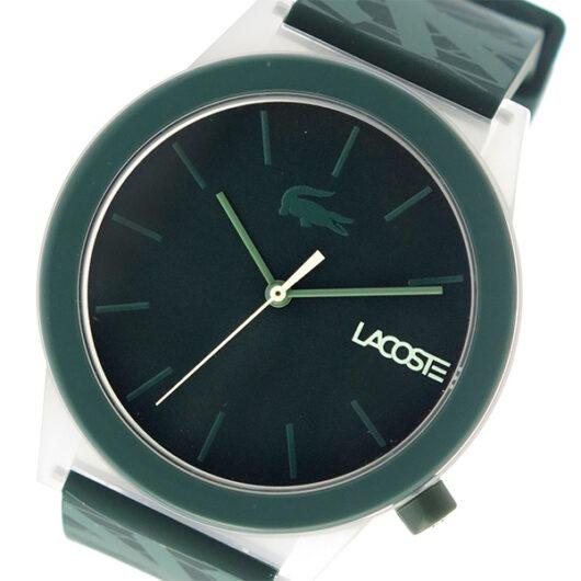 ラコステ LACOSTE クオーツ メンズ 腕時計 2010932 グリーン グリーン