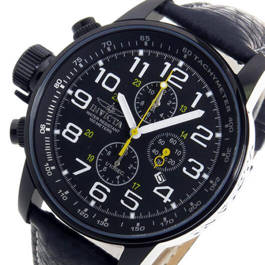 インヴィクタ INVICTA クロノ クオーツ メンズ 腕時計 3332 ブラック ブラック