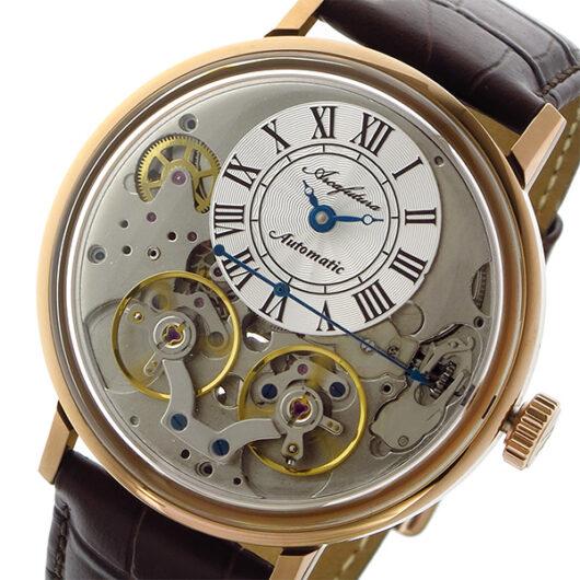 アルカ フトゥーラ ARCA FUTURA 自動巻き メンズ 腕時計 33RGBR シルバー シルバー
