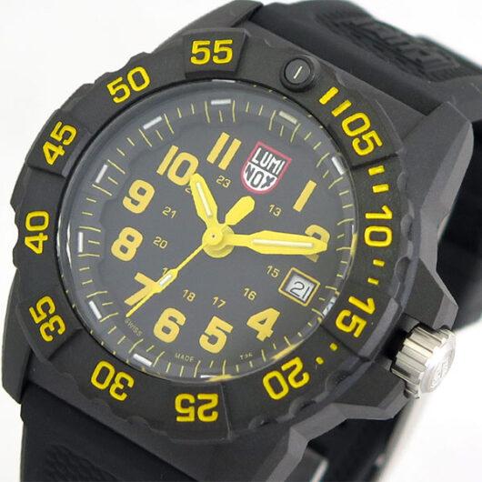 ルミノックス LUMINOX 腕時計 メンズ 3505 クォーツ ブラック ブラック
