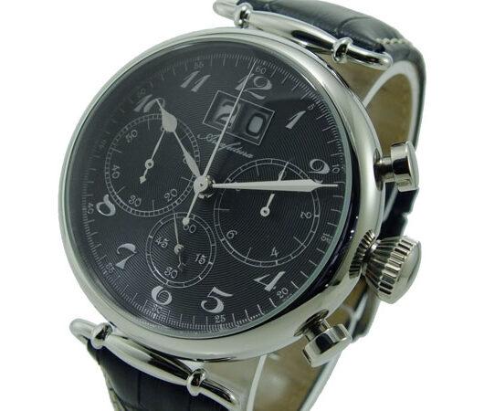 アルカフトゥーラ ARCA FUTURA クオーツ クロノグラフ メンズ 腕時計 420BKBK ブラック