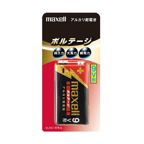 4902580186258 アルカリ乾電池ボルテージ9V×1個