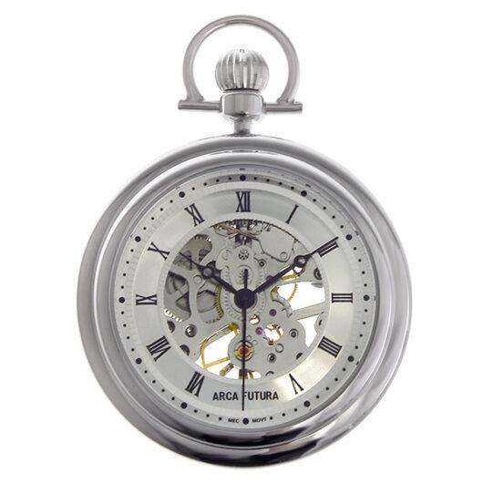 アルカ フトゥーラ ARCA FUTURA 手巻き メンズ 懐中時計 5053CPSK シルバー シルバー