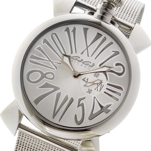 ガガミラノ GAGA MILANO SLIM 腕時計 5080.3 シルバー