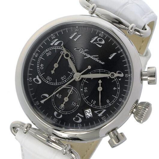 アルカ フトゥーラ ARCA FUTURA クロノ クオーツ メンズ 腕時計 515BKWH ブラック ブラック