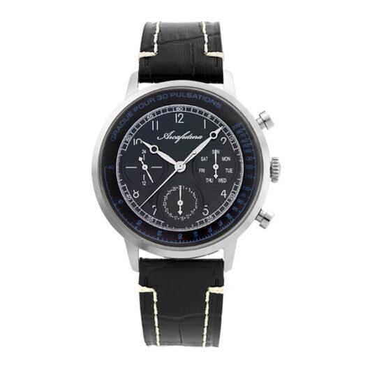 アルカ フトゥーラ クオーツ メンズ 腕時計 700BKBK ブラック 国内正規 ブラック