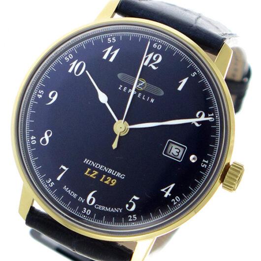 ツェッペリン ZEPPELIN クオーツ メンズ 腕時計 7044-3 ネイビー ネイビー