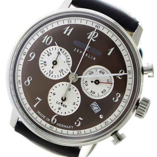 ツェッペリン ZEPPELIN クオーツ メンズ 腕時計 7086-5 ブラウン ブラウン