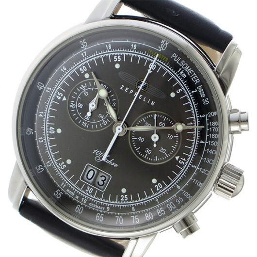 ツェッペリン ZEPPELIN クオーツ メンズ 腕時計 7690-2 グレー グレー