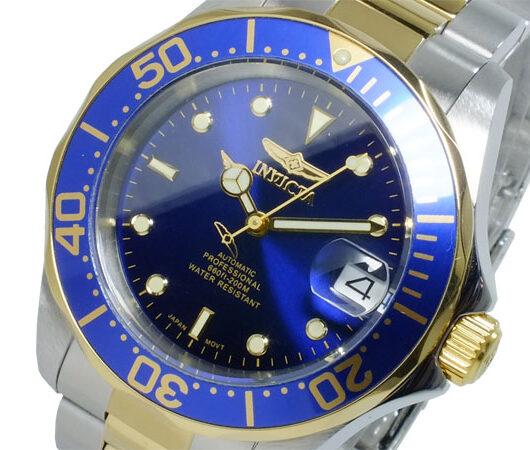 インヴィクタ INVICTA プロ ダイバー 自動巻 メンズ 腕時計 8928 ネイビー