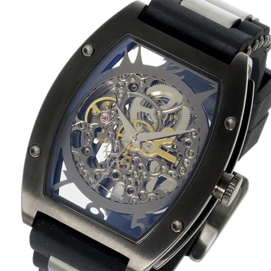 アルカ フトゥーラ ARCA FUTURA 自動巻き メンズ 腕時計 978G ブラック×スケルトン ブラック