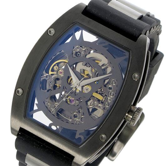 アルカ フトゥーラ ARCA FUTURA 自動巻き メンズ 腕時計 978H ブラック×スケルトン ブラック