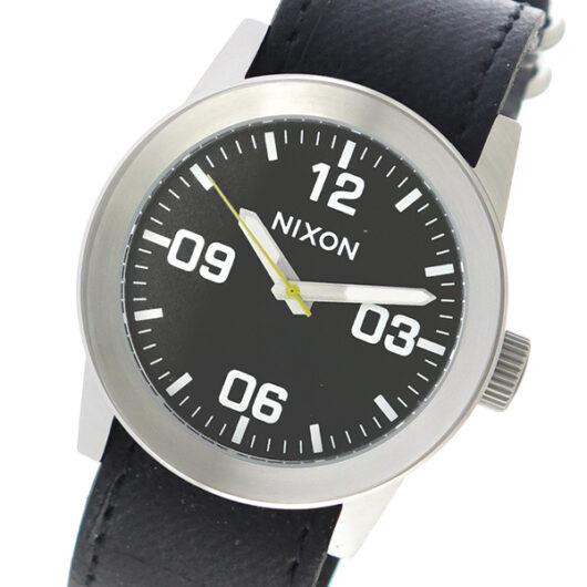 ニクソン NIXON  クオーツ メンズ 腕時計 A049-1892 ブラック ブラック