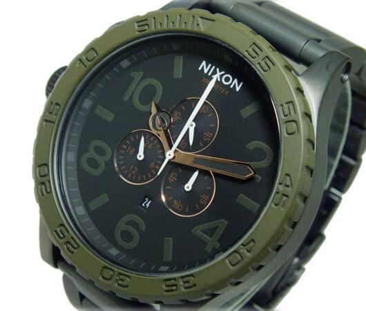 ニクソン NIXON 51-30 CHRONO クオーツ メンズ クロノ 腕時計 A083-1530 ブラック