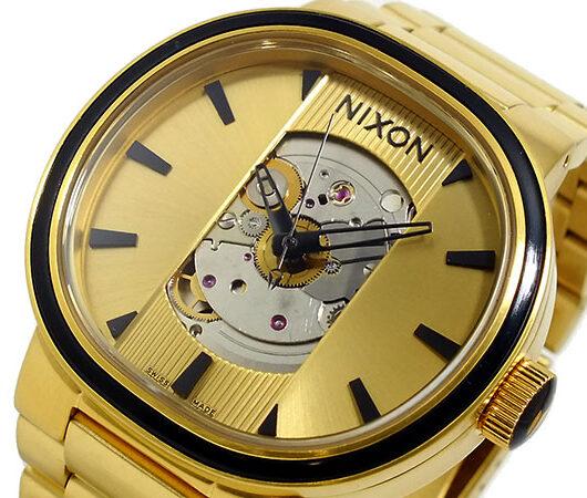 ニクソン NIXON キャピタル オートマティック 腕時計 A089-510 ゴールド