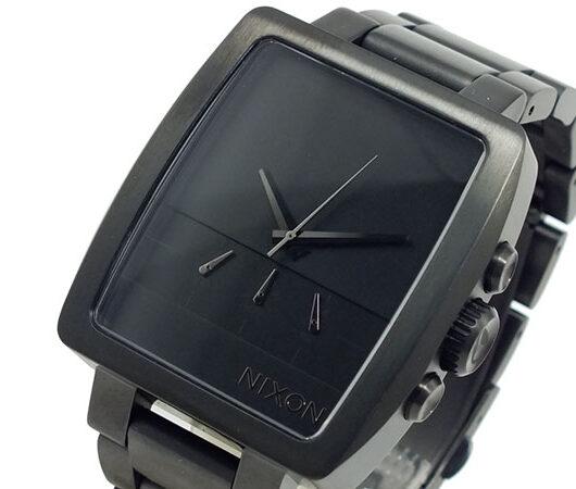 ニクソン NIXON アクシス クロノグラフ 腕時計 メンズ A324-001  ブラック