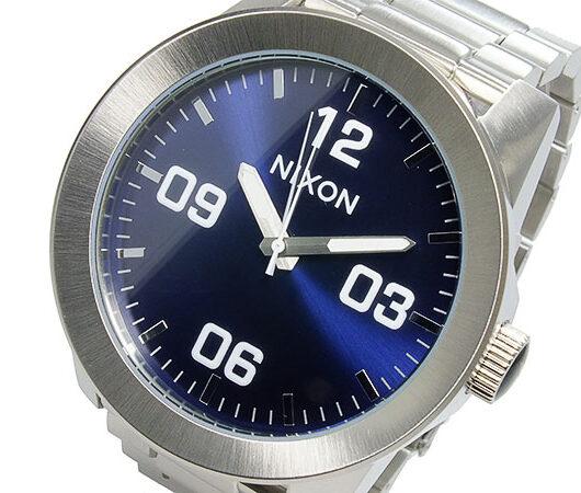 ニクソン NIXON CORPORAL SS クオーツ メンズ 腕時計 A346-1258  ダークブルー